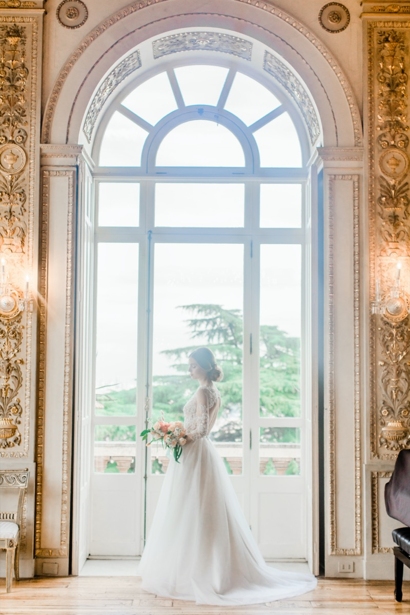 Bride's morning